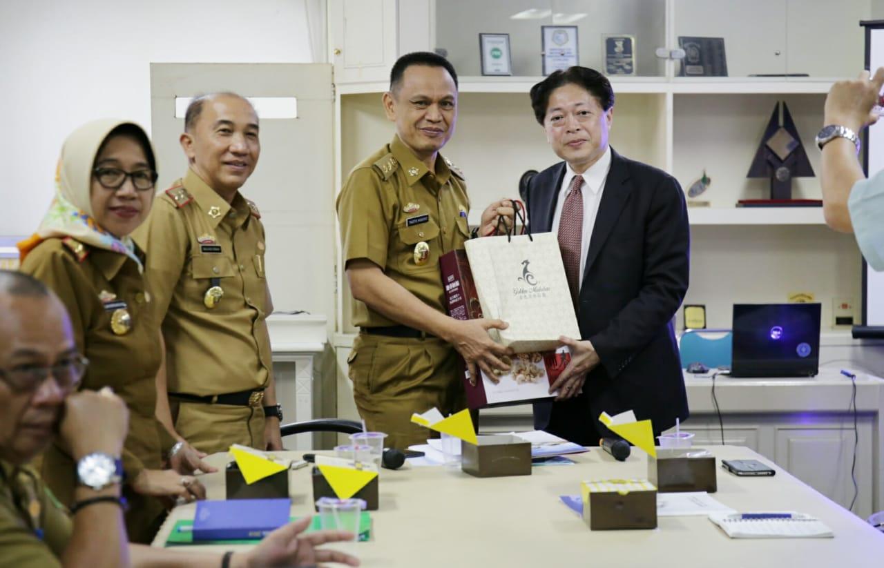 Pemprov Lampung Tawarkan Pengembangan Industri Gula di Way Kanan dan Mesuji kepada Investor Taiwan